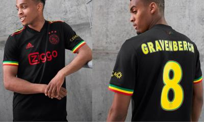 AFC Ajax 2021 2022 adidas Bob Marley Third Football Kit, 2021/22 Shirt, 2021-22 Soccer Jersey, 21-22 derde tenue