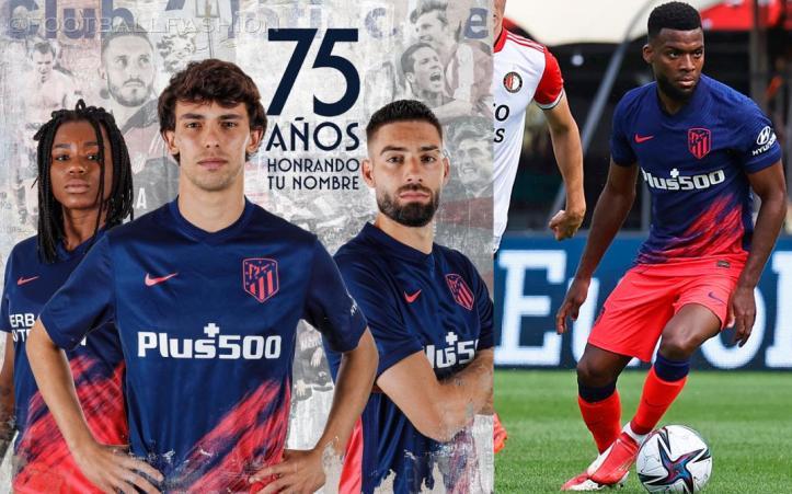 Atlético Madrid 2021 2022 Nike Away Football Kit, 2021-22 Shirt, 2021/22 Soccer Jersey, Camiseta de Futbol 21-22