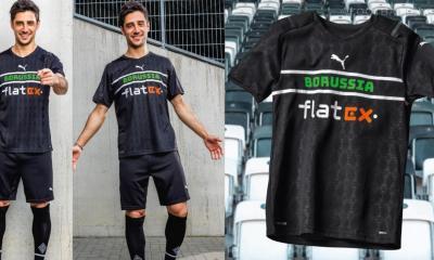 Borussia Mönchengladbach 2021 2022 PUMA Black Third Football Kit, 21-22 Soccer Jersey, 2021-2022 Shirt, 2021/22 Trikot
