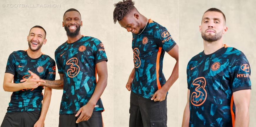 Chelsea FC 2021 2022 Nike Third Football Kit, 2021-22 Soccer Jersey, 2021/22 Shirt, Maillot, Camiseta 21-22, Camisa 21/22, Maglia, Trikot, Dres