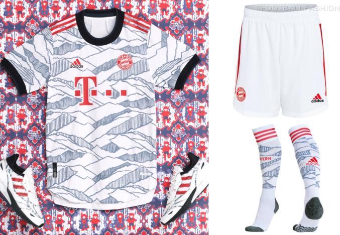 Bayern Munich 2021 2022 adidas Champions League Football Kit, 2021-22 Soccer Jersey, 2021/22 Shirt, 21-22 Trikot, Maillot, Tenue, Camisa, Camiseta 21/22, Heimtrikot