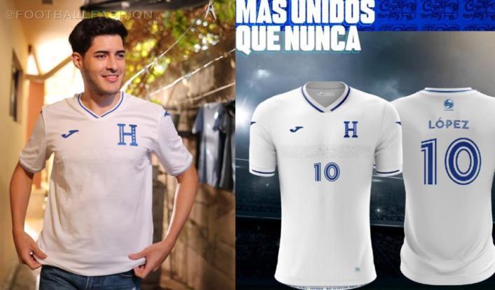 Honduras 2021 2022 Joma Home and Away Soccer Jersey, 2021-22 Football Kit, 2021/22 Shirt, Camiseta de Futbol 21-22