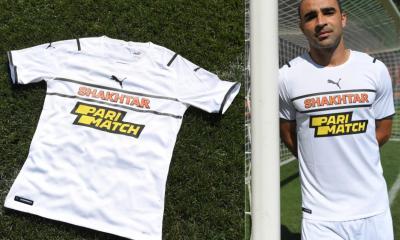 FC Shakhtar Donetsk 2021 2022 PUMA White Third Football Kit, 2021-22 Shirt, 2021/22 Soccer Jersey, Camisa 21-22