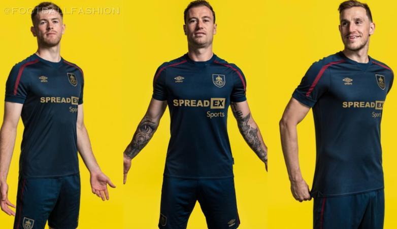 Burnley 2021 2022 Umbro Third Football Kit, 2021-22 Soccer Jersey, 2021/22 Shirt