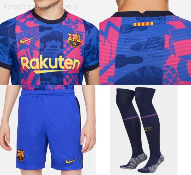 FC Barcelona 2021 2022 Nike Third Football Kit, 2021-22 Soccer Jersey, 2021/22 Shirt, Camiseta 21-22, Equipacion, Camisa 21/22, Maillot, Trikot, Tenue
