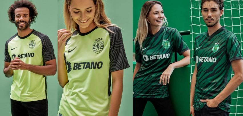 Sporting Club de Portugal 2021 2022 Nike Away and Third Football Kit, 2021-22 Soccer Jersey, 2021/22 Shirt, Camisola 21-22