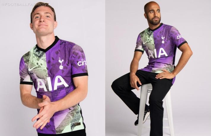 Tottenham Hotspur 2021 2022 Nike Third Football Kit, 2021-22 Soccer Jersey, 2021/22 Shirt, Camiseta, Camisa, Maglia, 21-22 Trikot