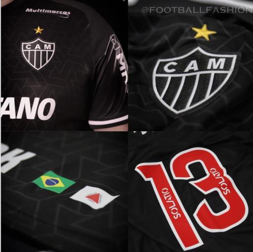 Atlético Mineiro 2021/22 le coq sportif Third Football Kit, 2021 Soccer Jersey, 2022 Shirt, 2021-22 Camisa