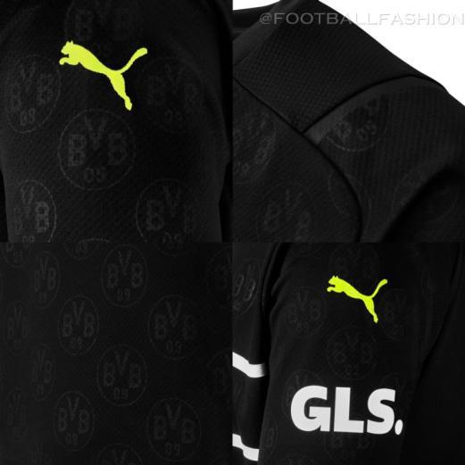 Borussia Dortmund 2021 2022 PUMA Cup Football Away Kit, 2021-22 Soccer Jersey, 2021/22 Shirt, Trikot, Cuptrikot 21/22