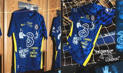 Chelsea 'Forty Two' 2021 2022 Limited Edition Champions of Europe Nike Home Football Kit, 2021-22 Soccer Jersey, 2021/22 Shirt, Camiseta 21-22, Camisa 21/22, Maillot, Trikot