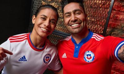 Chile 2021 2022 adidas Home and Away Football Kit, 2021-22 Soccer Jersey, 2021/22 Shirt, Camiseta de Futbol 21/22