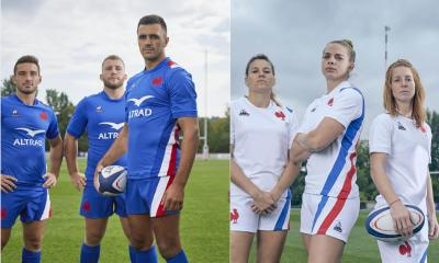 France Rugby 2021 2022 Le Coq Sportif Home and Away Kit, 2021-22 Jersey, 2021/22 Shirt, Maillot