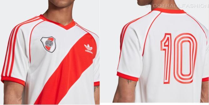 Reissue: River Plate 1985 1986 adidas Home Soccer Jersey, Retro Football Kit, Shirt, Camiseta de Futbol