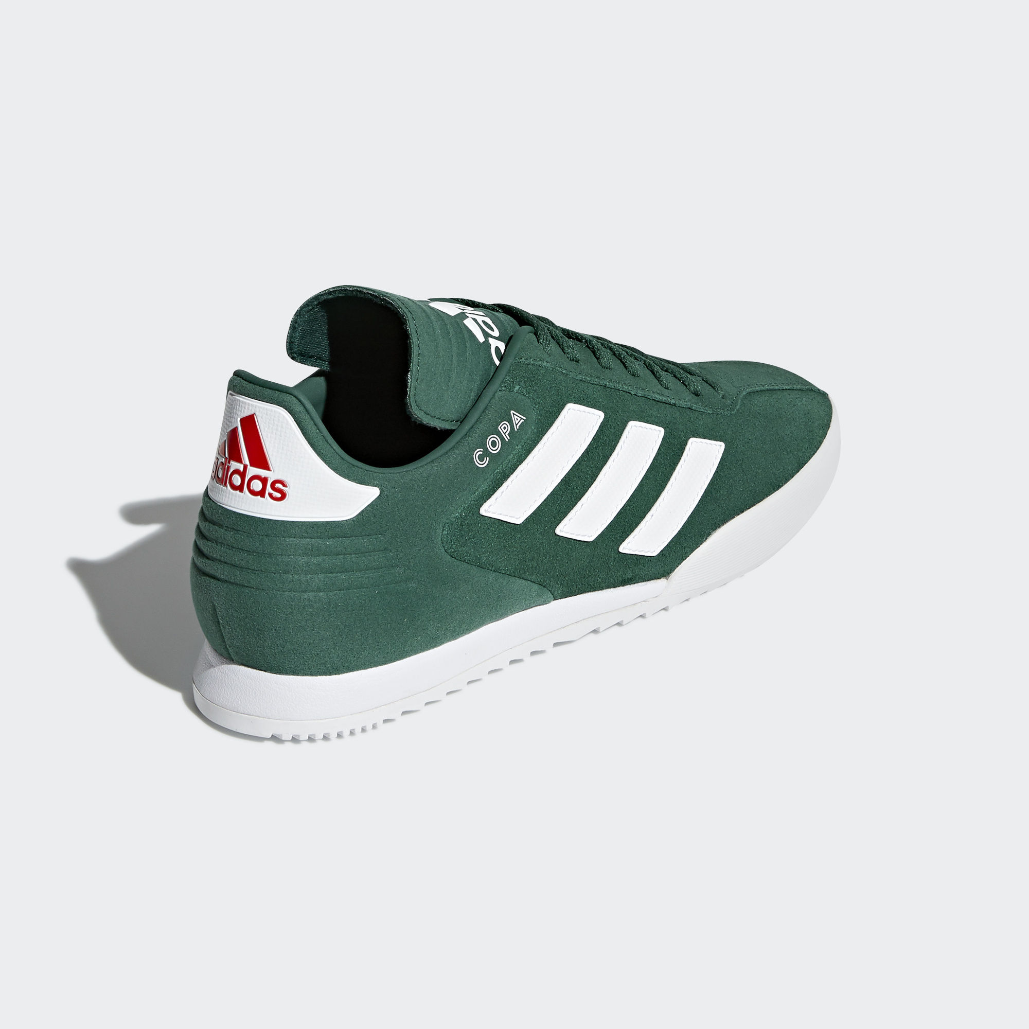 Adidas Copa Super Shoes  Collegiate Green  Running White