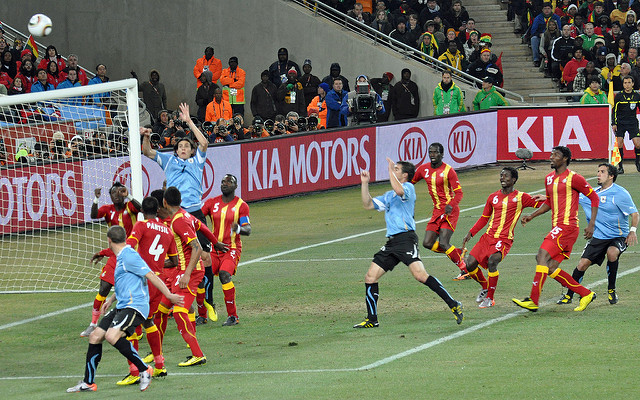 World Cup 2010 Uruguay Ghana