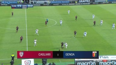 Full Match: Cagliari vs Genoa