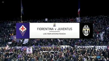 Full Match: Fiorentina vs Juventus