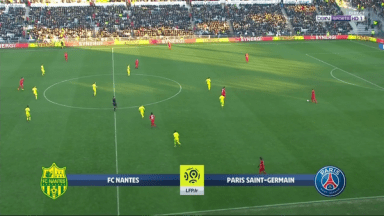 Full Match: Nantes vs PSG