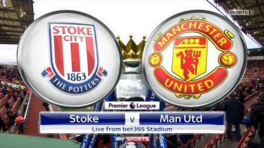 Full Match: Stoke City vs Manchester United