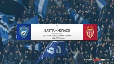 Full match: Bastia vs Monaco