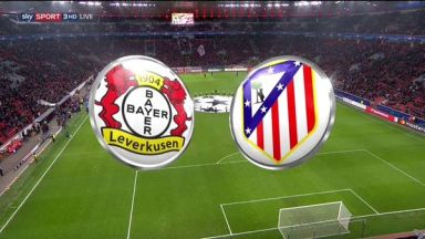 Full match: Bayer Leverkusen vs Atletico Madrid