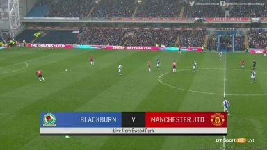 Full match: Blackburn Rovers vs Manchester United