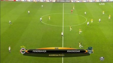 Full match: Fenerbahce vs Krasnodar