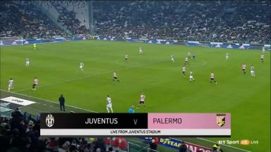 Full match: Juventus vs Palermo