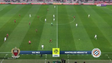 Full match: Nice vs Montpellier