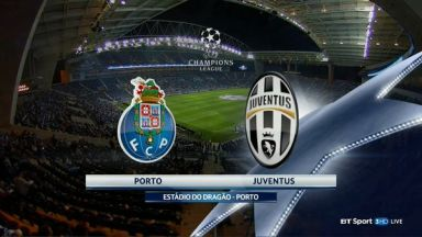 Full match: Porto vs Juventus