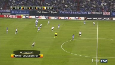 Full match: Schalke 04 vs PAOK