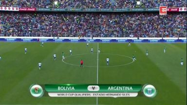 Full match: Bolivia vs Argentina