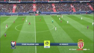 Full match: Caen vs Monaco