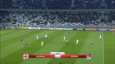 Full match: Georgia vs Serbia