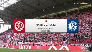 Full match: Mainz 05 vs Schalke 04