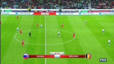Full match: Russia vs Belgium