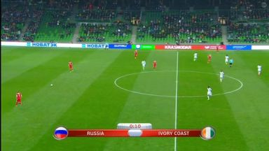 Full match: Russia vs Ivory Coast
