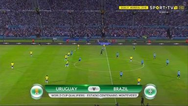 Full match: Uruguay vs Brazil