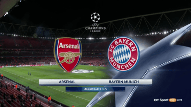 Full match: Arsenal vs Bayern Munich