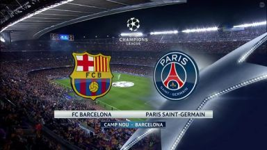 Full match: Barcelona vs PSG