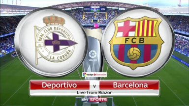 Full match: Deportivo La Coruna vs Barcelona