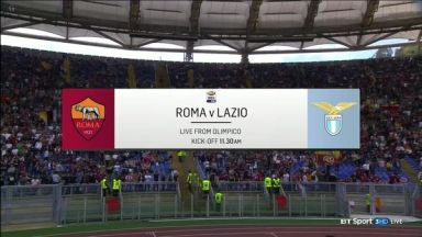 Full match: AS Roma vs Lazio