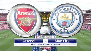 Full match: Arsenal vs Manchester City