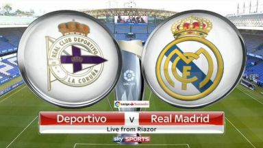 Full match: Deportivo La Coruna vs Real Madrid