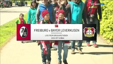 Full match: Freiburg vs Bayer Leverkusen