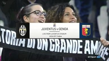 Full match: Juventus vs Genoa