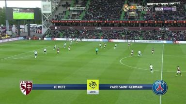 Full match: Metz vs PSG