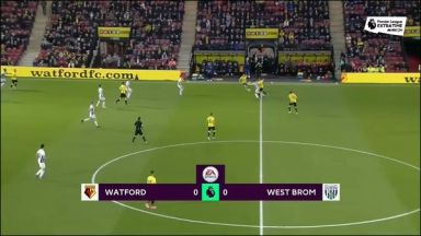 Full match: Watford vs West Bromwich Albion