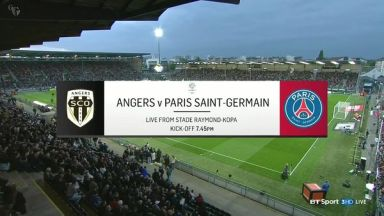 Full match: Angers SCO vs PSG