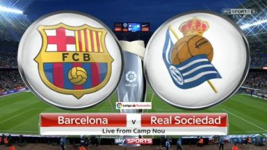 Full match: Barcelona vs Real Sociedad